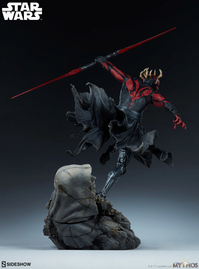 Star Wars  – Darth Maul Mythos Statue Darth-56