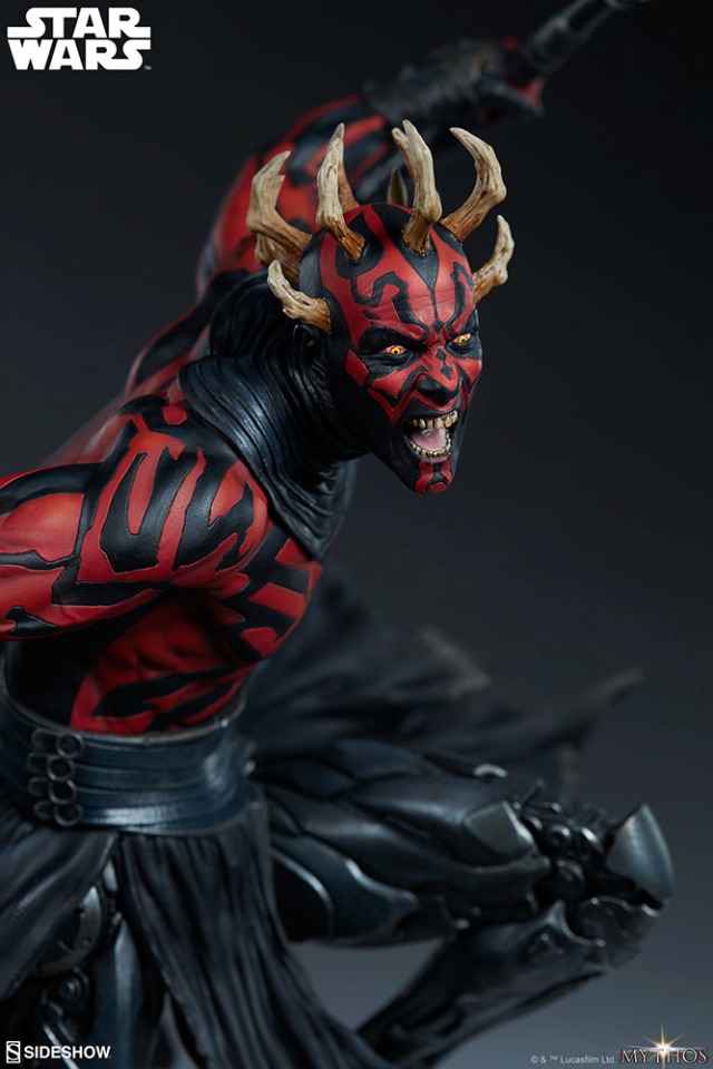 Star Wars  – Darth Maul Mythos Statue Darth-57