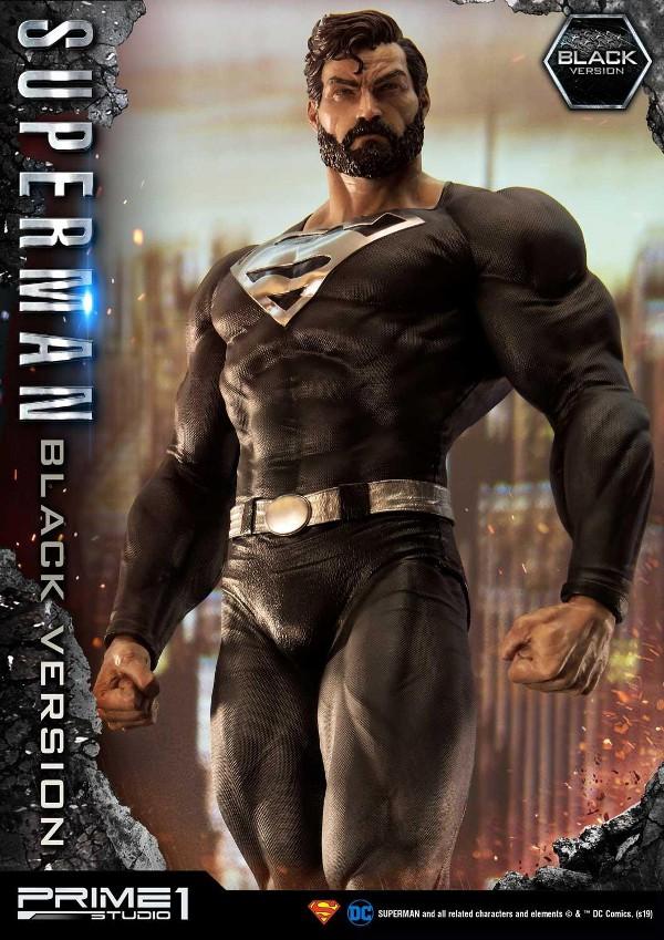 DC Comics – Black Suit Superman 1/3 scale Statue Dc_com10