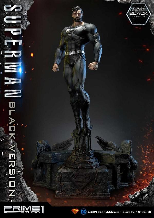 DC Comics – Black Suit Superman 1/3 scale Statue Dc_com12