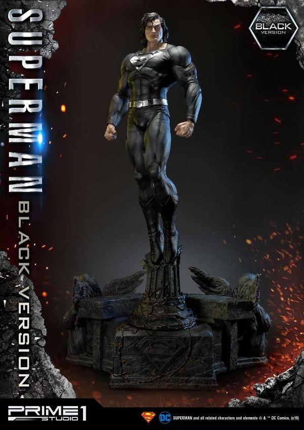DC Comics – Black Suit Superman 1/3 scale Statue Dc_com13
