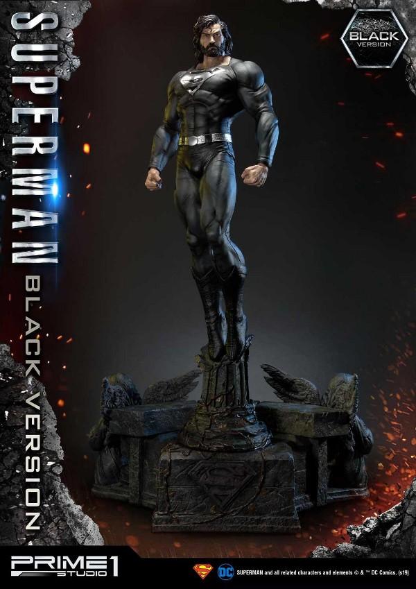 DC Comics – Black Suit Superman 1/3 scale Statue Dc_com14
