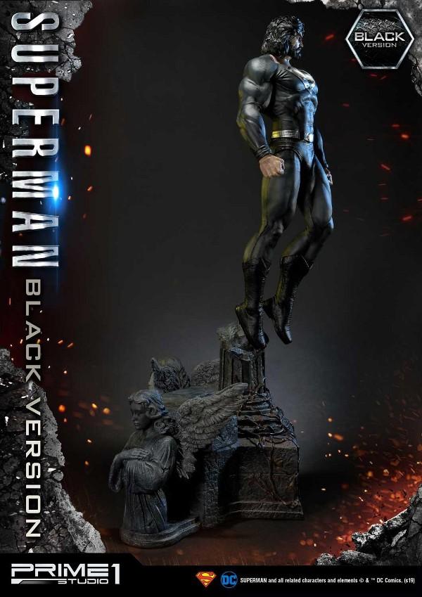 DC Comics – Black Suit Superman 1/3 scale Statue Dc_com15