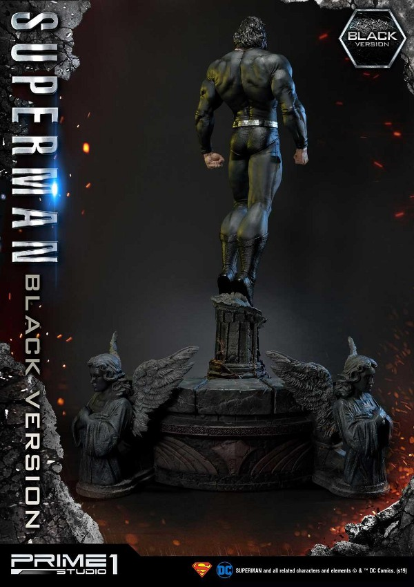 DC Comics – Black Suit Superman 1/3 scale Statue Dc_com16