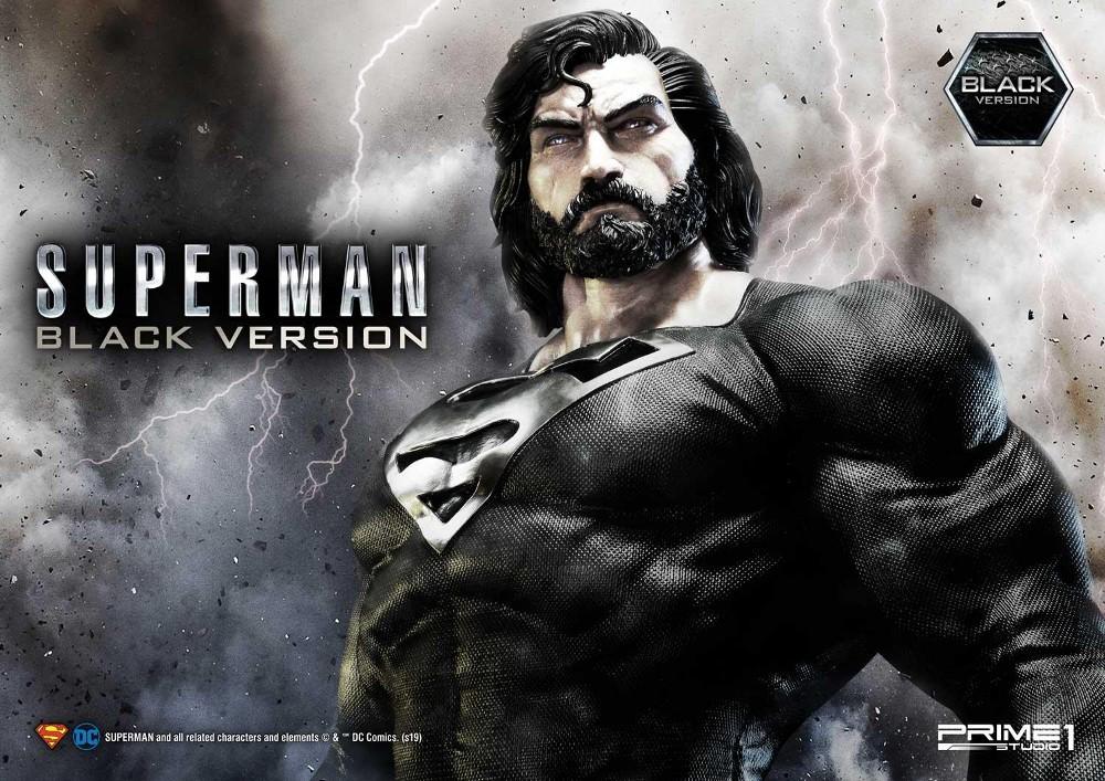 DC Comics – Black Suit Superman 1/3 scale Statue Dc_com20