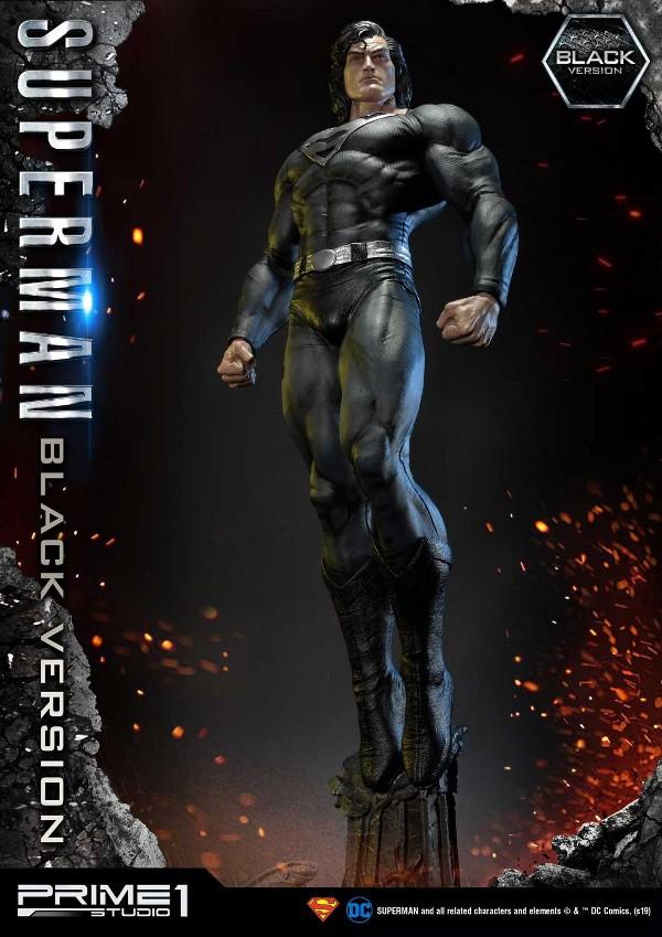 DC Comics – Black Suit Superman 1/3 scale Statue Dc_com21