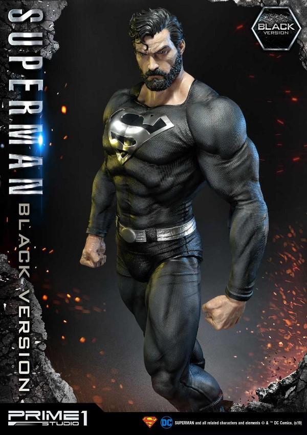 DC Comics – Black Suit Superman 1/3 scale Statue Dc_com22