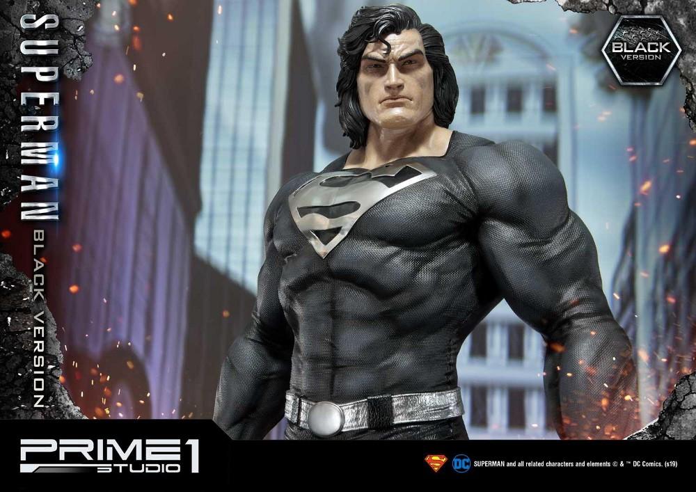 DC Comics – Black Suit Superman 1/3 scale Statue Dc_com23