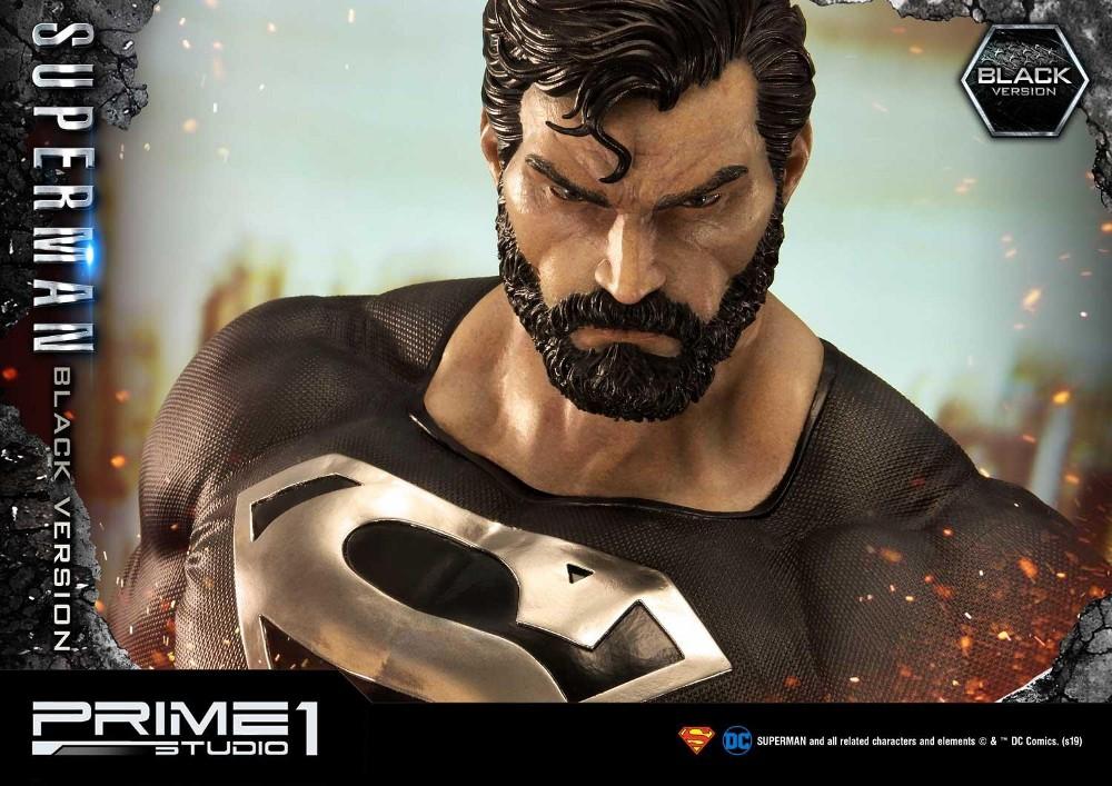 DC Comics – Black Suit Superman 1/3 scale Statue Dc_com24