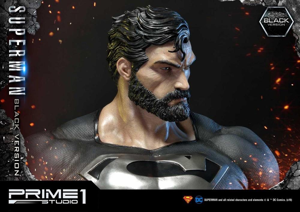 DC Comics – Black Suit Superman 1/3 scale Statue Dc_com25