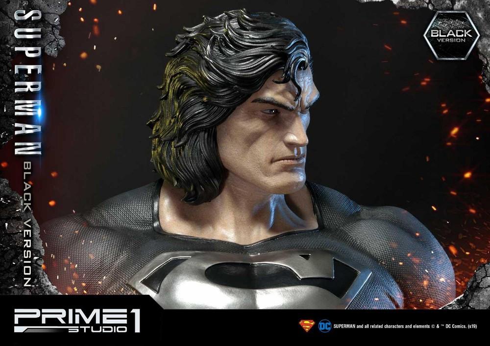 DC Comics – Black Suit Superman 1/3 scale Statue Dc_com26