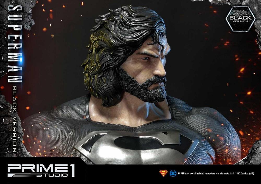 DC Comics – Black Suit Superman 1/3 scale Statue Dc_com27