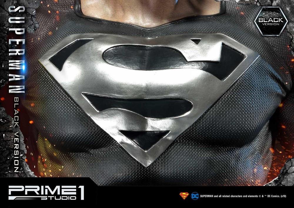 DC Comics – Black Suit Superman 1/3 scale Statue Dc_com28