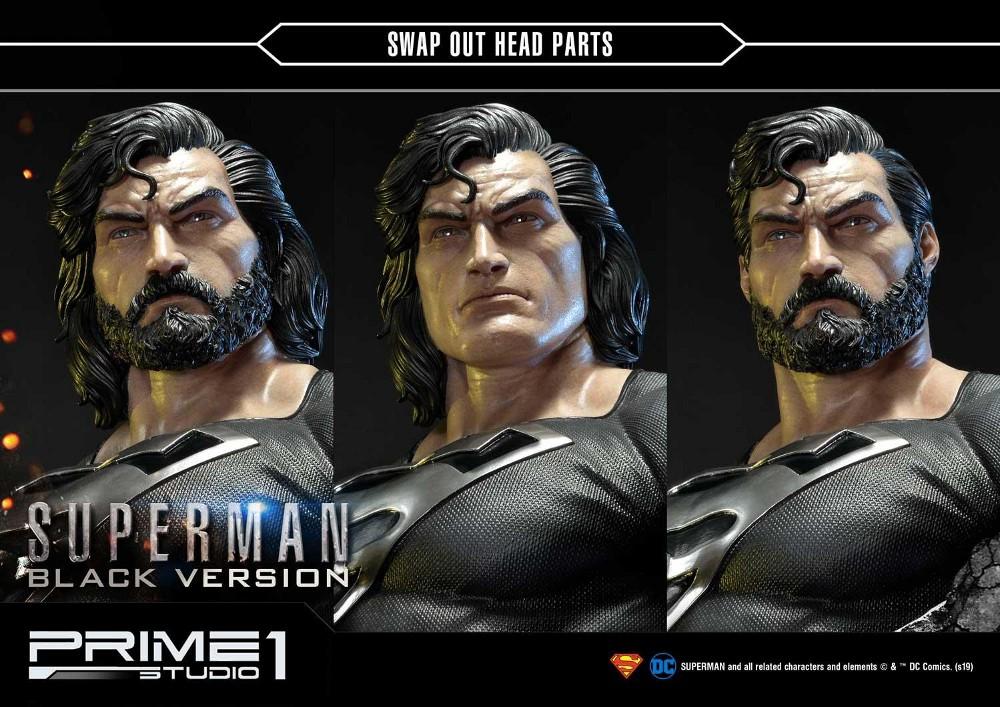 DC Comics – Black Suit Superman 1/3 scale Statue Dc_com30
