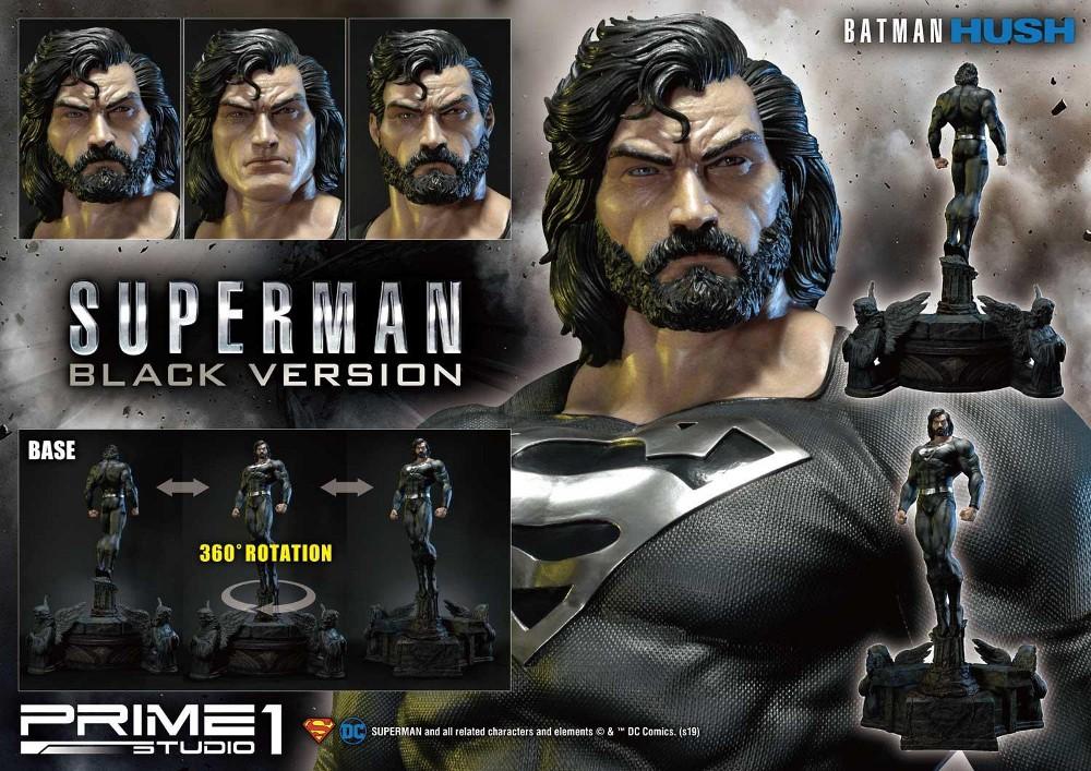 DC Comics – Black Suit Superman 1/3 scale Statue Dc_com31