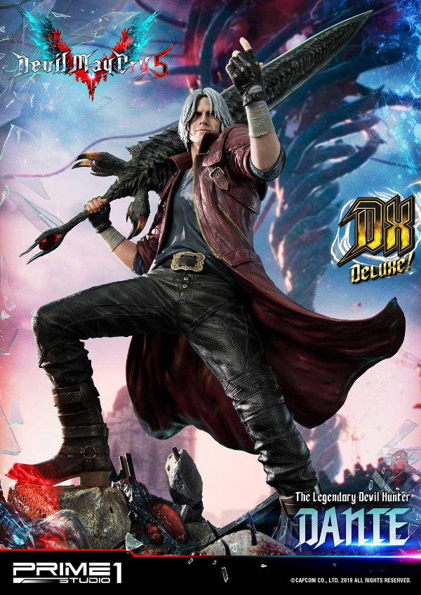 Devil May Cry 5 – Dante 1/4 Statue Devil_28