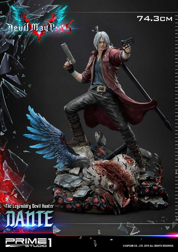 Devil May Cry 5 – Dante 1/4 Statue Devil_30