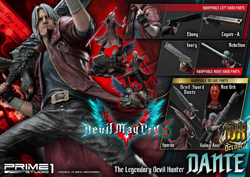 Devil May Cry 5 – Dante 1/4 Statue Devil_31