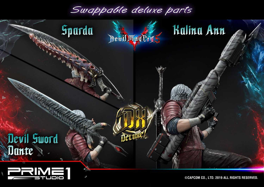 Devil May Cry 5 – Dante 1/4 Statue Devil_32