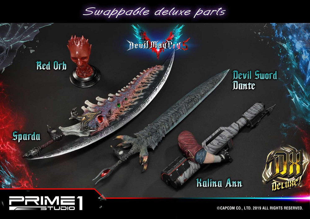 Devil May Cry 5 – Dante 1/4 Statue Devil_33