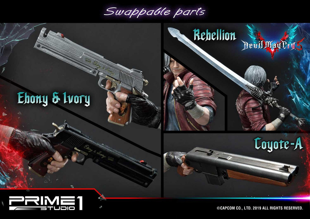 Devil May Cry 5 – Dante 1/4 Statue Devil_35