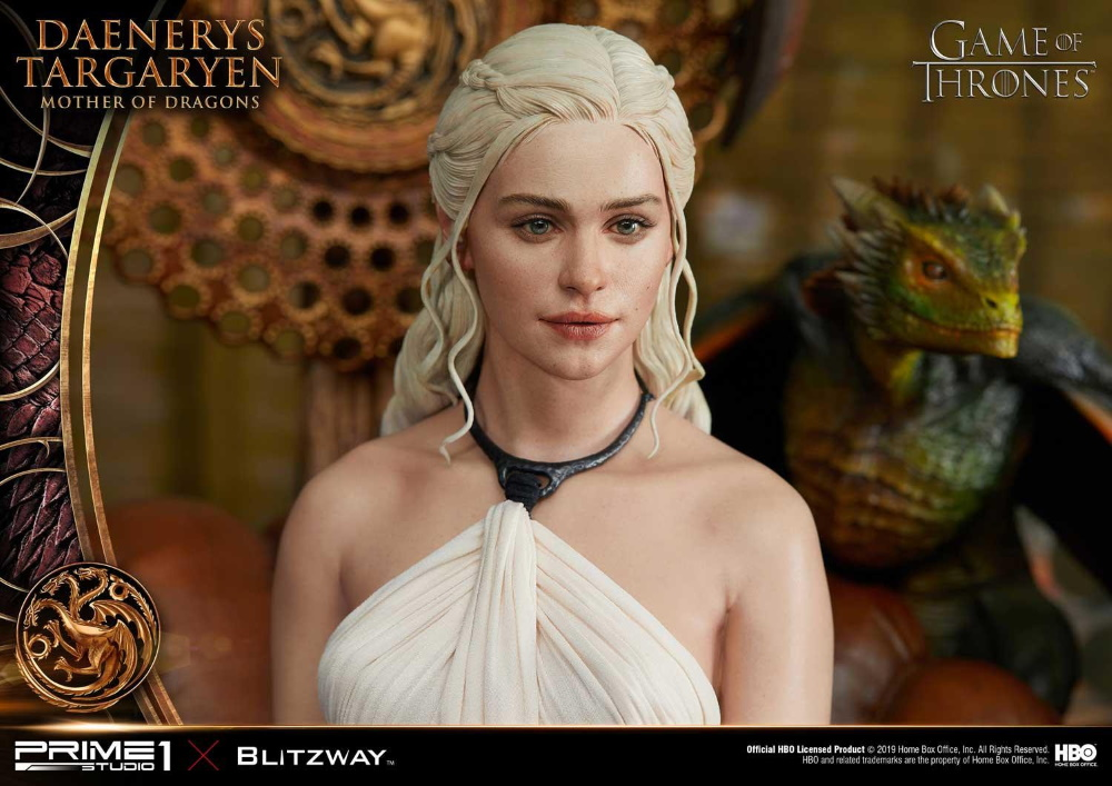 "Game of Thrones – Daenerys Targaryen ""Mother of Dragons"" 1/4 Scale Statue Game-o11"