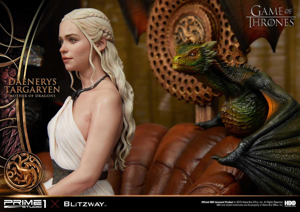 "Game of Thrones – Daenerys Targaryen ""Mother of Dragons"" 1/4 Scale Statue Game-o12"
