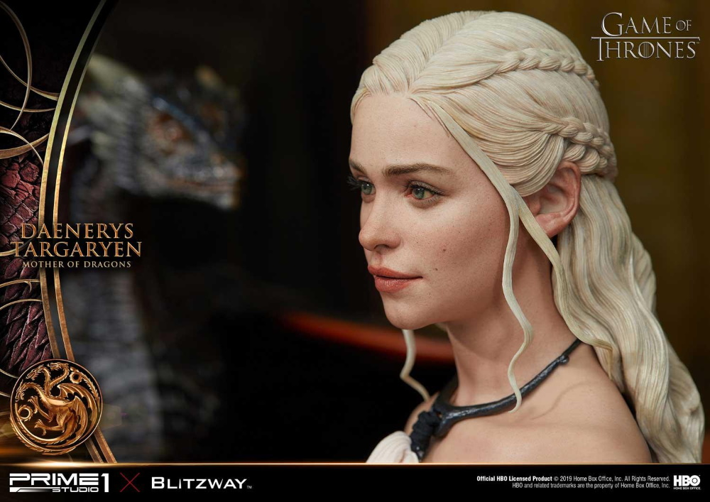 "Game of Thrones – Daenerys Targaryen ""Mother of Dragons"" 1/4 Scale Statue Game-o13"