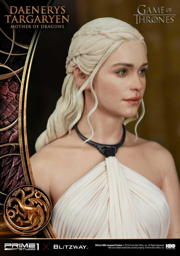 "Game of Thrones – Daenerys Targaryen ""Mother of Dragons"" 1/4 Scale Statue Game-o14"