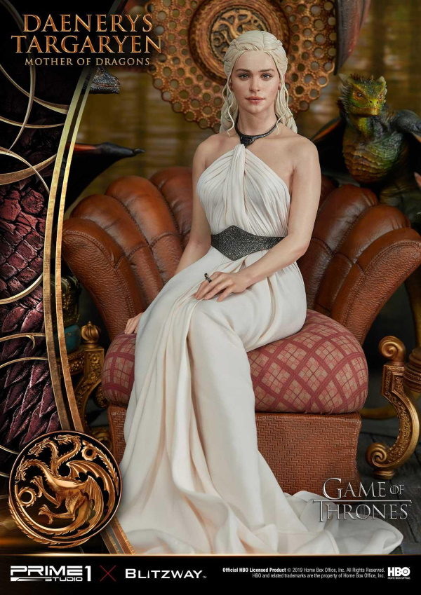 "Game of Thrones – Daenerys Targaryen ""Mother of Dragons"" 1/4 Scale Statue Game-o15"