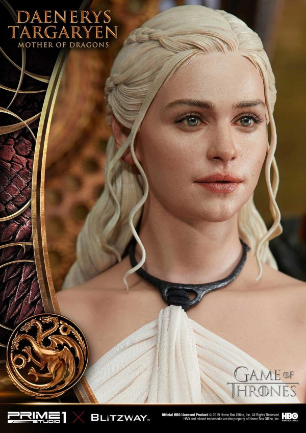 "Game of Thrones – Daenerys Targaryen ""Mother of Dragons"" 1/4 Scale Statue Game-o16"