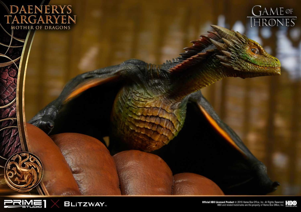 "Game of Thrones – Daenerys Targaryen ""Mother of Dragons"" 1/4 Scale Statue Game-o19"
