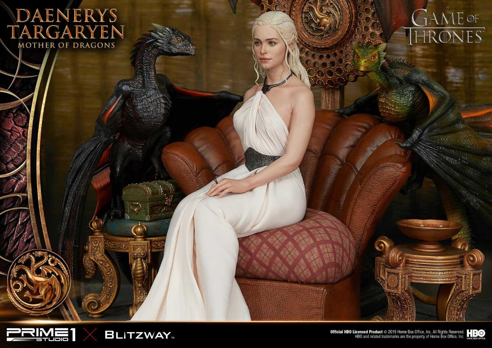 "Game of Thrones – Daenerys Targaryen ""Mother of Dragons"" 1/4 Scale Statue Game-o21"