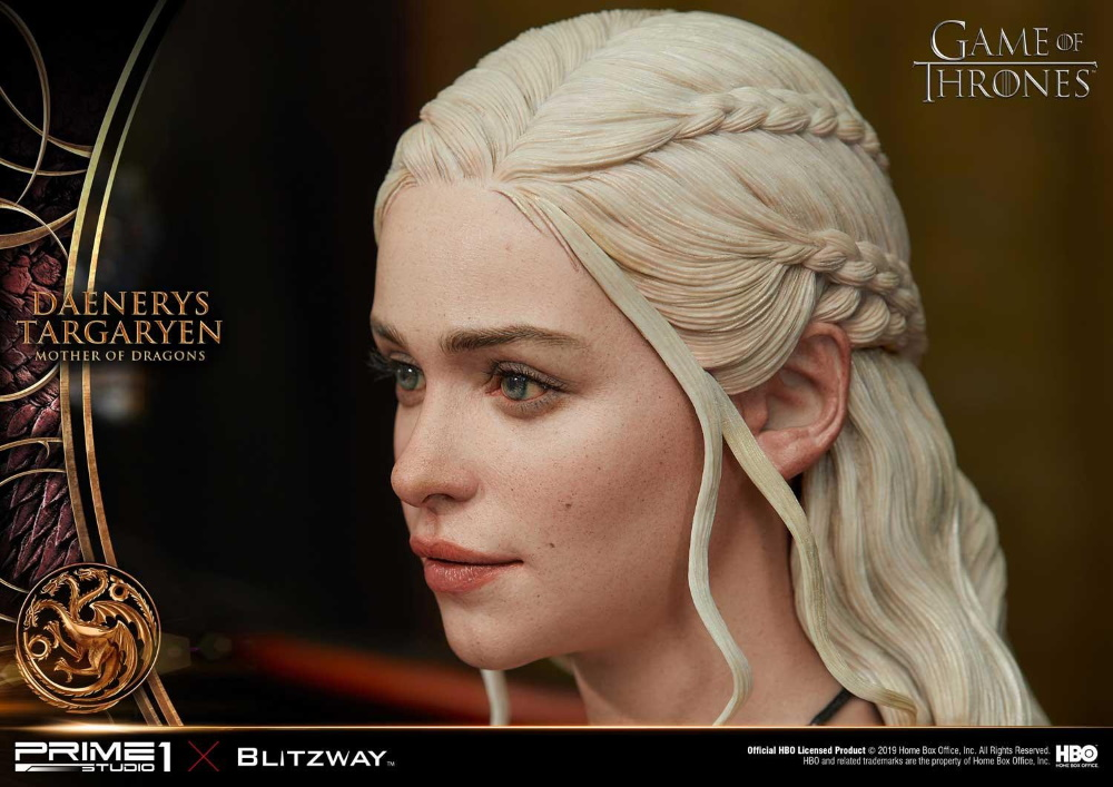 "Game of Thrones – Daenerys Targaryen ""Mother of Dragons"" 1/4 Scale Statue Game-o23"