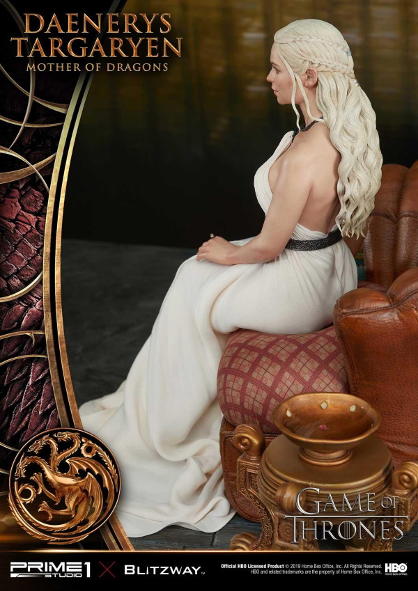 "Game of Thrones – Daenerys Targaryen ""Mother of Dragons"" 1/4 Scale Statue Game-o24"
