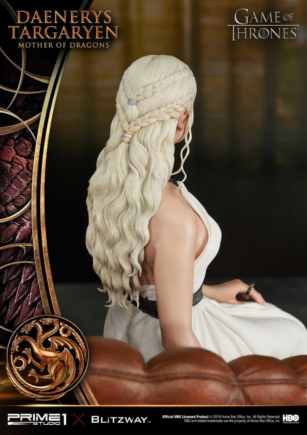 "Game of Thrones – Daenerys Targaryen ""Mother of Dragons"" 1/4 Scale Statue Game-o25"