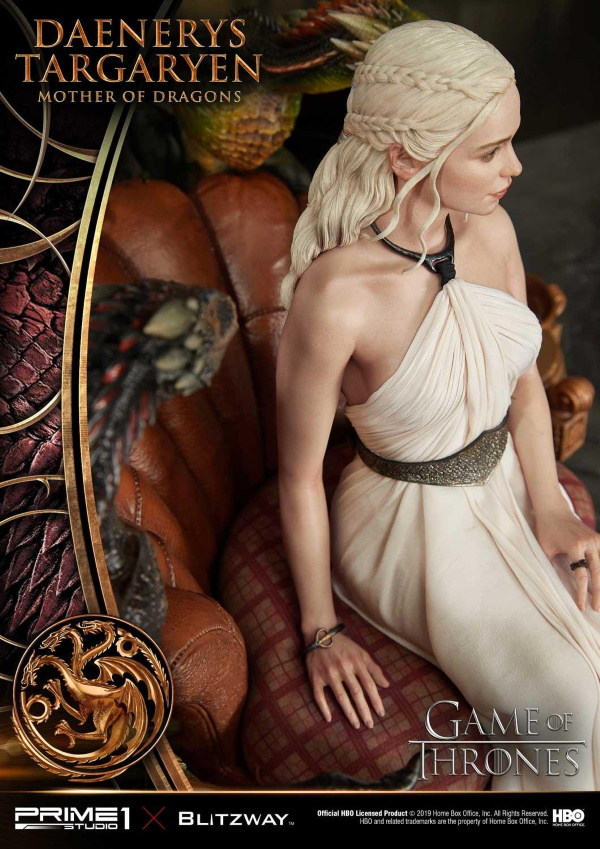 "Game of Thrones – Daenerys Targaryen ""Mother of Dragons"" 1/4 Scale Statue Game-o26"