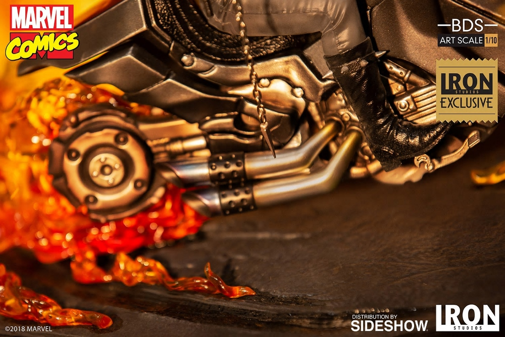 IRON STUDIOS : GHOST RIDER Art Scale 1:10 Battle Diorama Series Ghost_16
