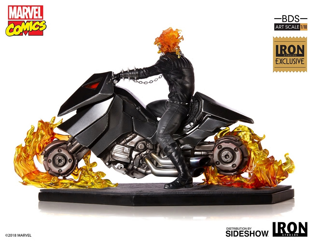 IRON STUDIOS : GHOST RIDER Art Scale 1:10 Battle Diorama Series Ghost_20