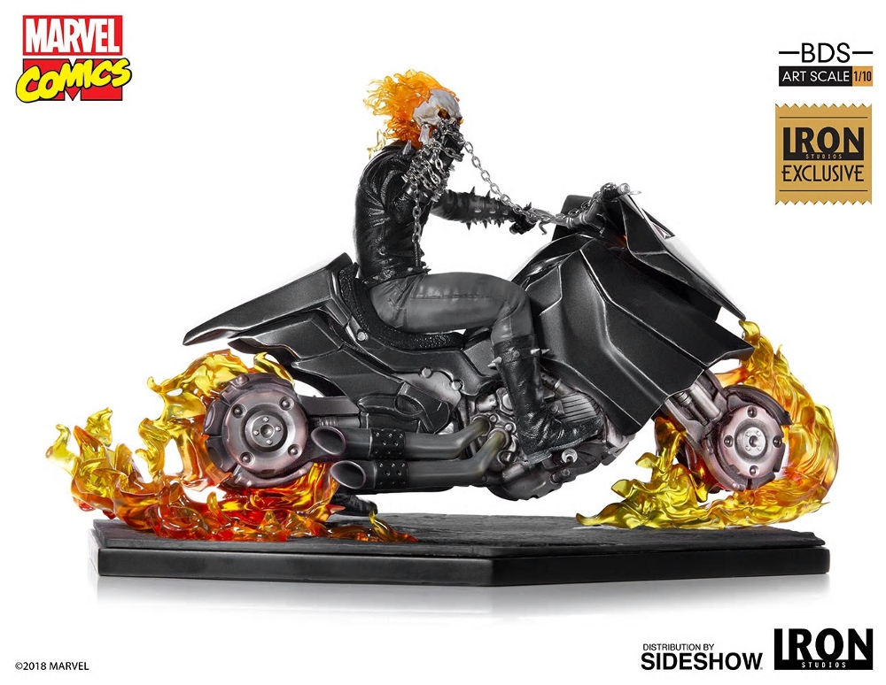 IRON STUDIOS : GHOST RIDER Art Scale 1:10 Battle Diorama Series Ghost_21