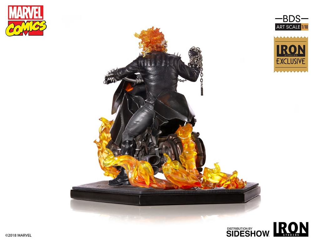 IRON STUDIOS : GHOST RIDER Art Scale 1:10 Battle Diorama Series Ghost_22