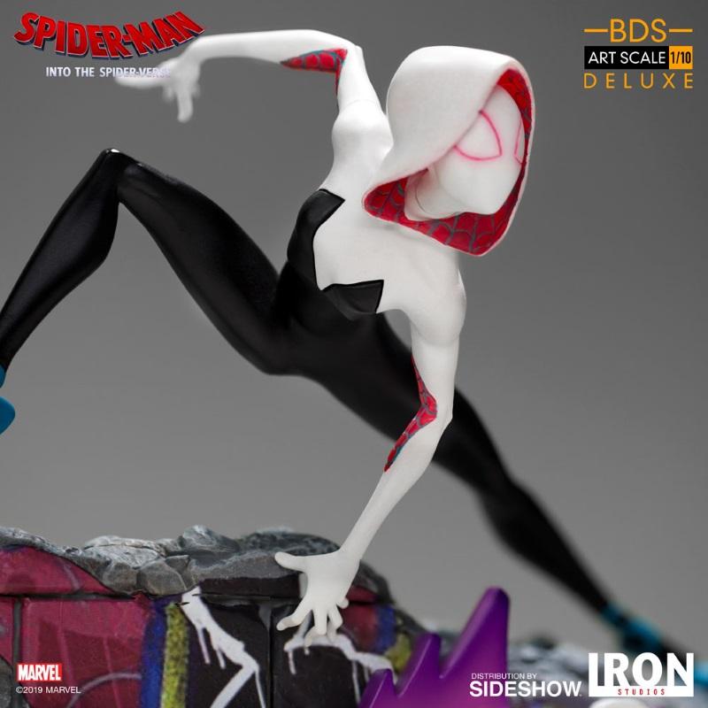 IRON STUDIOS : Gwen Stacy 1/10 statue Gwen_s14