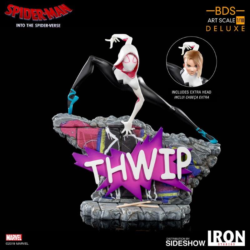 IRON STUDIOS : Gwen Stacy 1/10 statue Gwen_s20