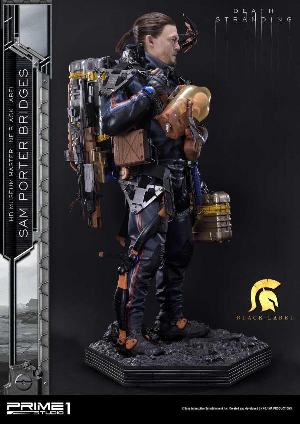 Death Stranding : Sam Porter Bridges 1/2 Scale Statue Hdmmbl14