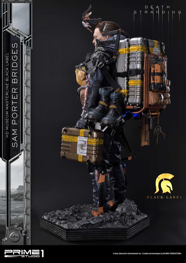 Death Stranding : Sam Porter Bridges 1/2 Scale Statue Hdmmbl16