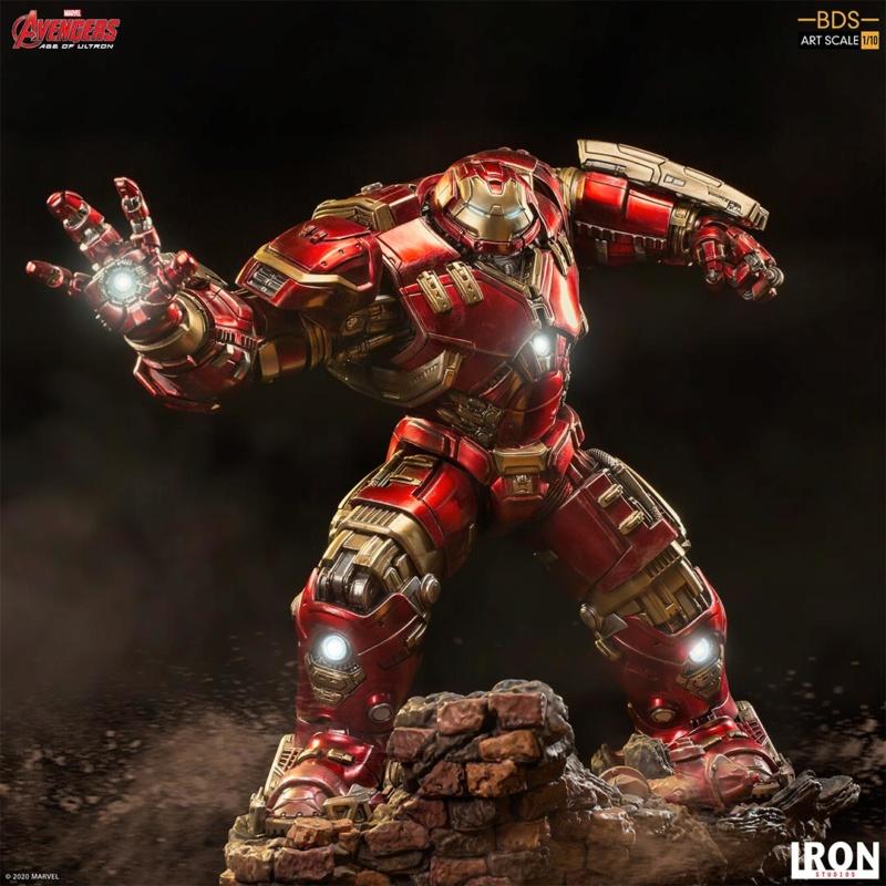 IRON STUDIOS : Avengers: Age of Ultron – Hulkbuster Battle Diorama Series 1/10 Scale Statue Hulkbu27