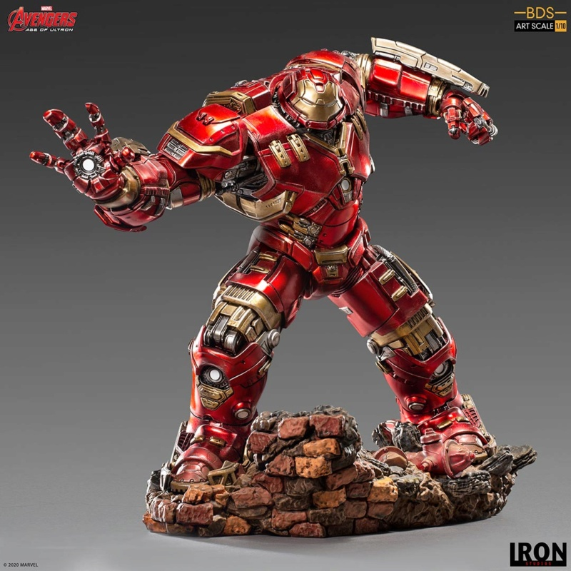 IRON STUDIOS : Avengers: Age of Ultron – Hulkbuster Battle Diorama Series 1/10 Scale Statue Hulkbu28