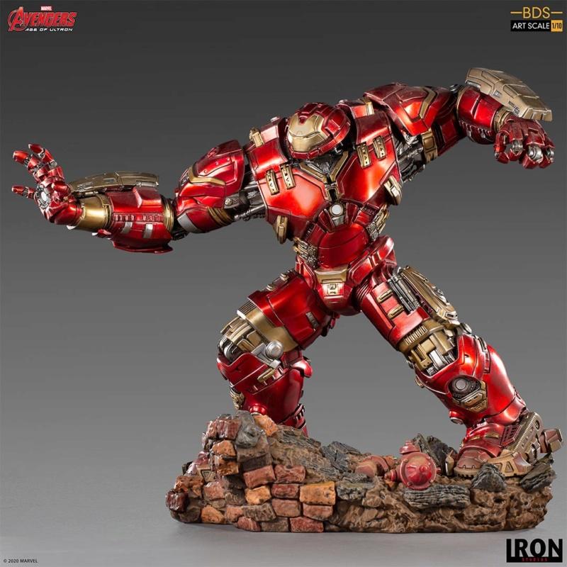 IRON STUDIOS : Avengers: Age of Ultron – Hulkbuster Battle Diorama Series 1/10 Scale Statue Hulkbu29