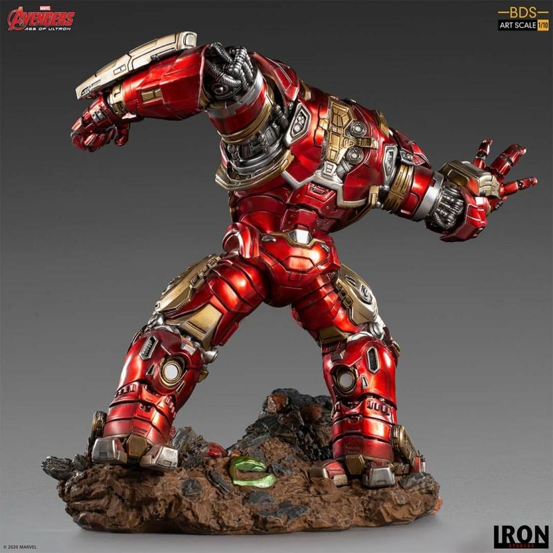 IRON STUDIOS : Avengers: Age of Ultron – Hulkbuster Battle Diorama Series 1/10 Scale Statue Hulkbu30