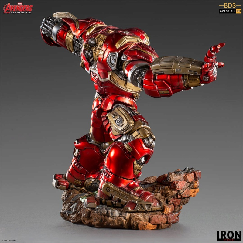 IRON STUDIOS : Avengers: Age of Ultron – Hulkbuster Battle Diorama Series 1/10 Scale Statue Hulkbu31